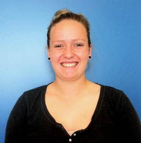 Nicole Günther, neue Auszubildende der Stadtwerke Lohmar