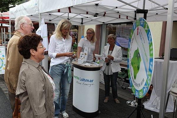 Stand der Stadtwerke Lohmar 2015
