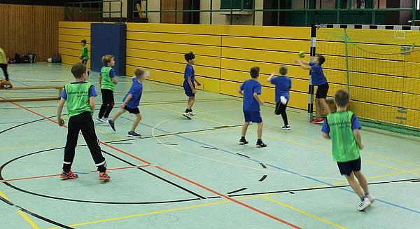 2. Stadtwerke-Handballturnier der Lohmarer Grundschulen