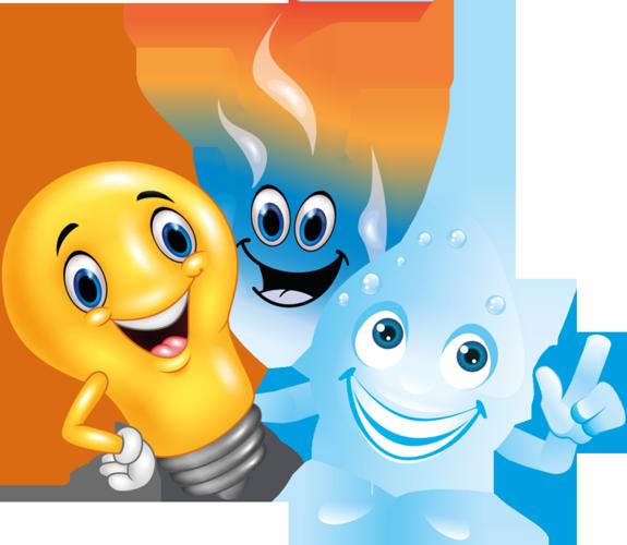 Noch ohne Namen: Glühbirne, Gasflamme und Wassertropfen der Stadtwerke Lohmar