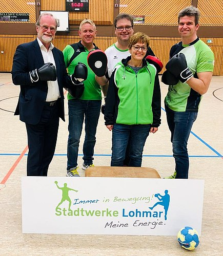 Stadtwerke Lohmar fördert Handballer-Fitness