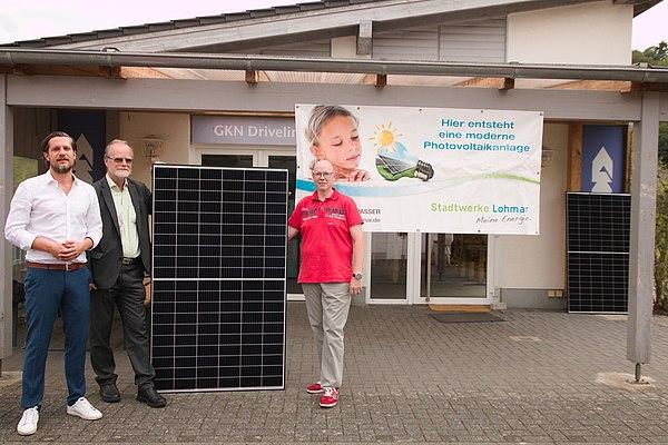 SV Lohmar setzt auf Solar-Energie mit den Stadtwerken Lohmar