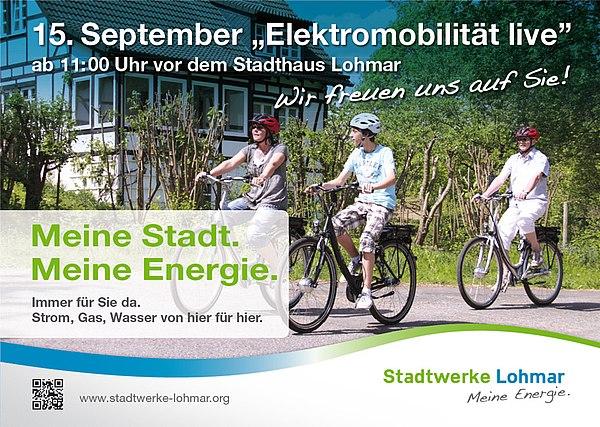 Unterwegs in die Zukunft – Stadtwerke Lohmar machen elektrisch mobil