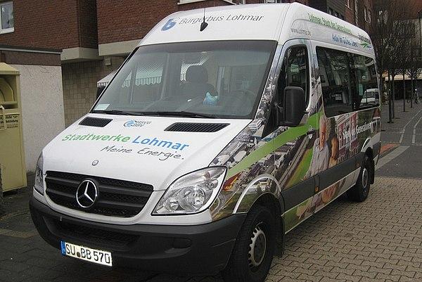 Bürgerbus Lohmar - Die Stadtwerke Lohmar fahren mit!